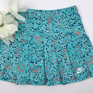 NEW NIKE VINTAGE 90s Sun Print Tennis Skirt Size 6
